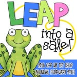 Leap Year Sale!  20% off!