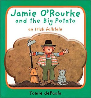 Kindergarten Lessons Plans ~ Jamie O'Rourke and the Big Potato RD