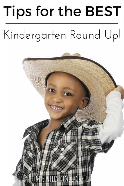 Kindergarten Round Up is always exciting for me. This is where we screen our incoming students and learn more about them. I loved walking down the hall and looking at the fresh little faces that might make up my future class. Reconnecting with parents from previous years and meeting new little friends. Here are a few tips to make this year the BEST Kindergarten Round Up or Screening EVER!