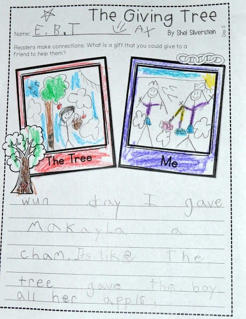 The Giving Tree And More on Lesson Plans Preschool Winter Animals
