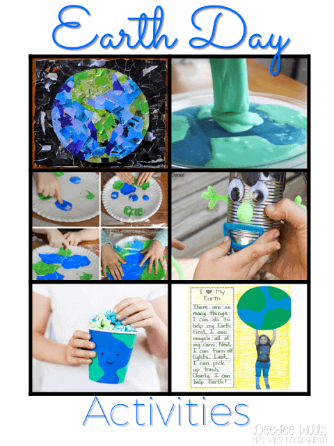 Earth Day is right around the corner, so this week we will be incorporating some fun math and literacy activities in anticipation! Here's a bunch of Earth Day lesson plans and activities for kindergarten and 1st grade.