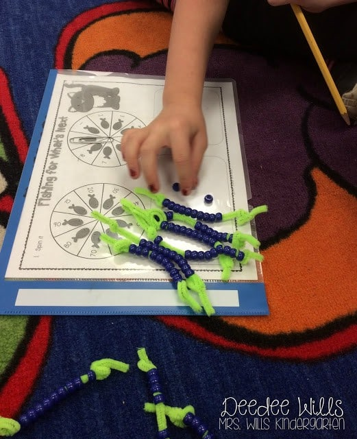Composing and decomposing tens