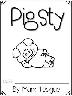 Pigsty by Mark Teague Response Journal