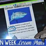 Ocean Week Lesson Plans