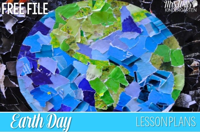 Earth Day Lesson Plans with a FREE File!