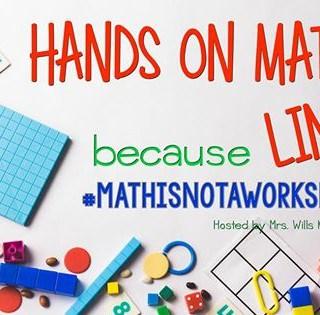 Hands On Math!  Linky!