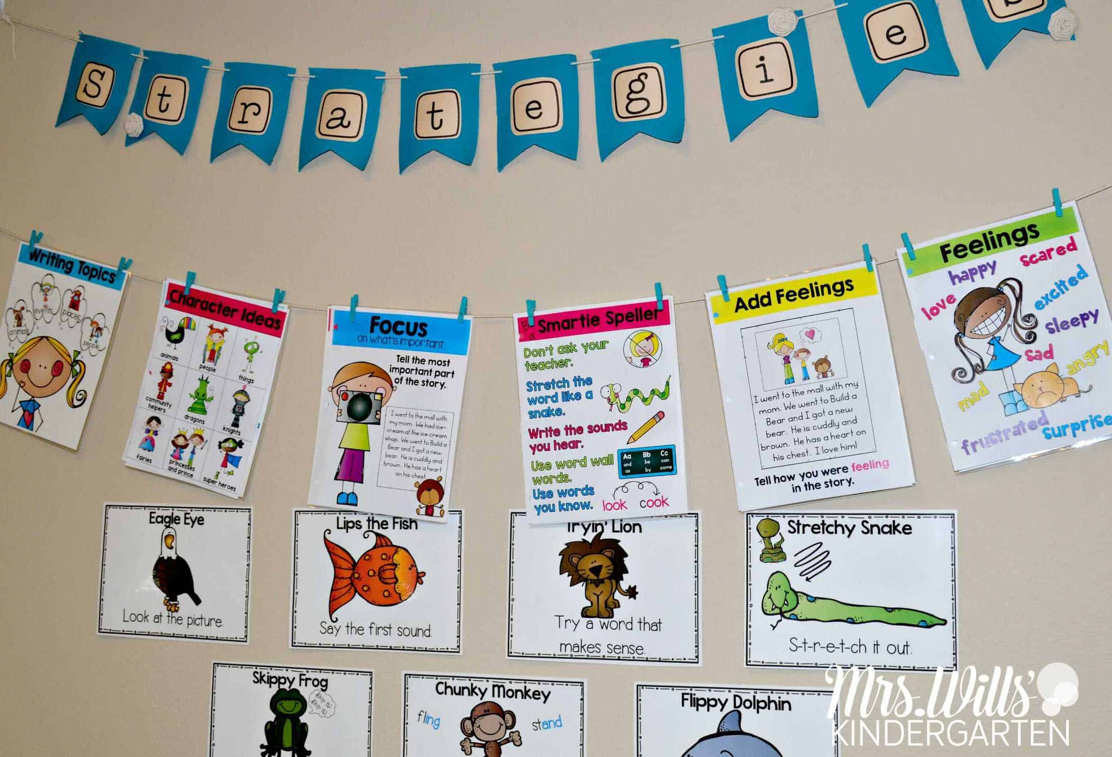 Organize your reading and writing rubrics for the whole year! Simple tips so your rubrics will be organized all year long. Align your rubrics with your anchor charts.