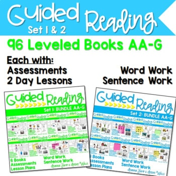 Guided Reading Books for Kindergarten and First Grade