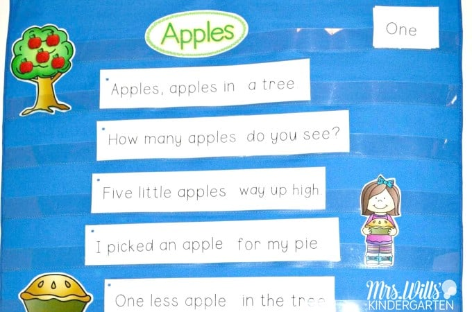 Poems for Kids! Poetry that is perfect for kindergarten students with a free poem sample. See how we incorporate poetry into our daily schedule to teach a multitude of reading skills. #kindergartenpoetry