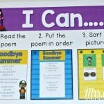 Poems for Kindergarten AND First Grade