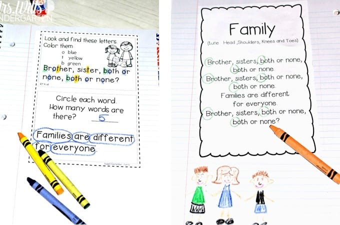 Poems for Kids with kindergarten poetry that teaches reading