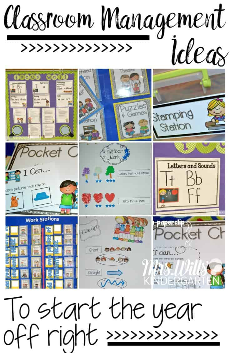 Classroom Organization Ideas For Kindergarten ~ Classroom management