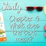 Text Dependent Questions: Chapter 4 (Linky)