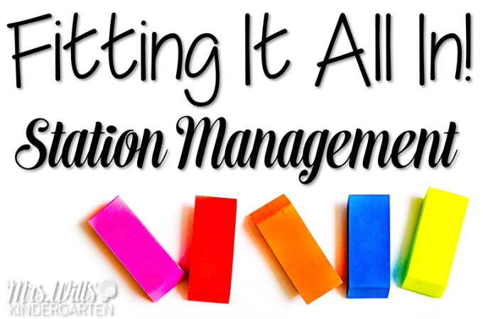 Tips for Station Management. Tips to make the most of your station time without losing your mind! This post will help simply your station management and help you fit it all in!