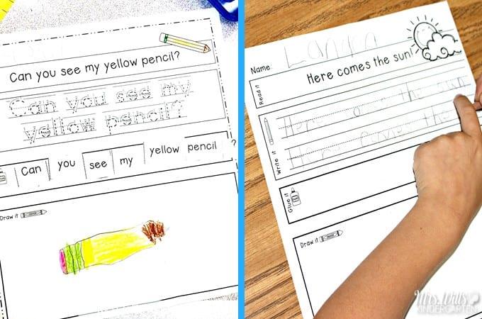 The BEST Kindergarten Schedule to Help You Fit it All in!