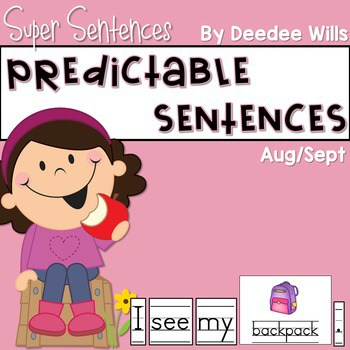 Predictable Sentences Aug/Sept Edition
