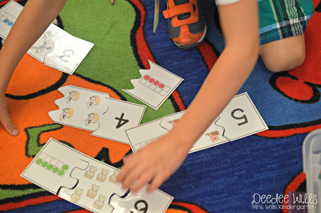 How do I start stations in kindergarten? Let me show you. Sanity savers and tips so you can love your back to school station time!