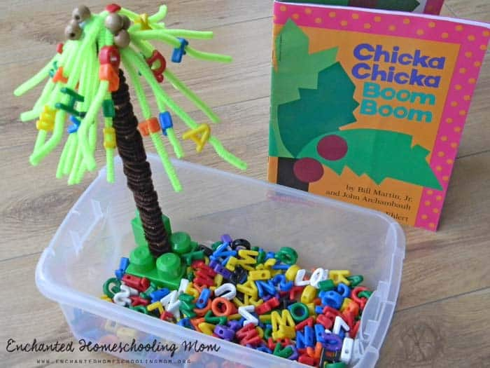 Chicka Chicka Boom Boom Crafts For Toddlers