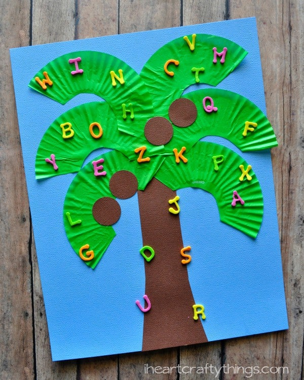 Palm Crafts For Preschoolers