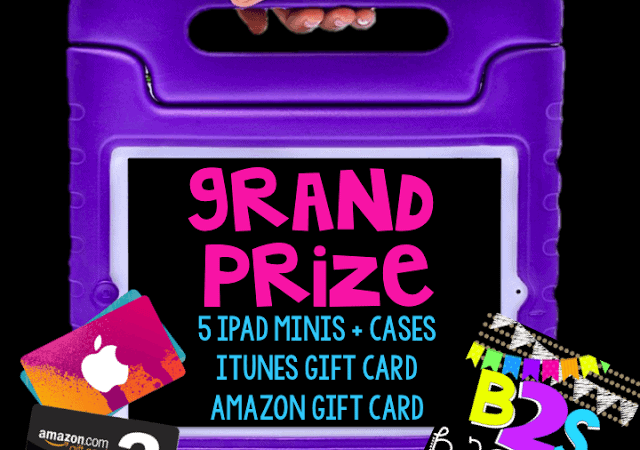 Back to School Bash GRAND PRIZE!