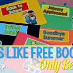 Poetry for Kindergarten… It's Like FREE Books, but BETTER