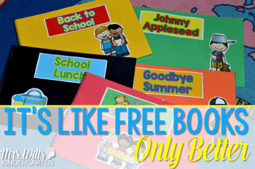 Poetry for kindergarten... it's like FREE books but Better! Let me show you how to add books to your classroom library that your kindergartners WANT to read.