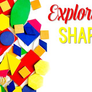 Peek at my Week ~ Exploring Shapes