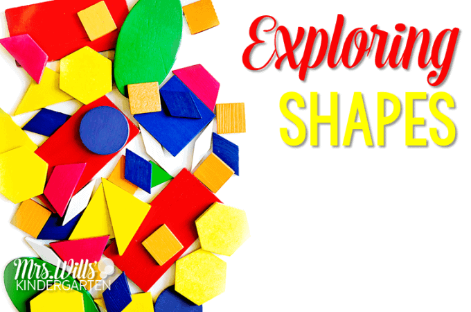 Exploring Shapes in Kindergarten