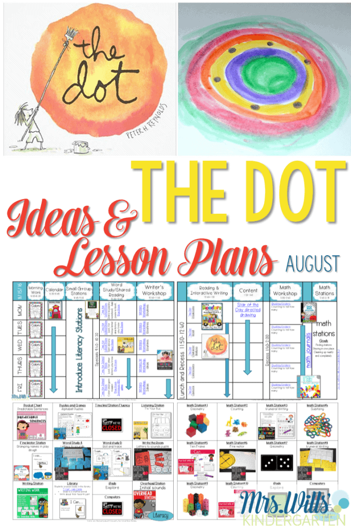 Classroom Design Activities ~ The dot lesson plans fun classroom activities mrs