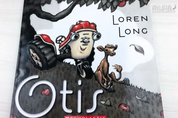 Otis lesson plans for your kindergarten or first-grade classroom are here! Otis by Loren Long is one of my favorite books! Students respond to literature with these print and teach, reading comprehension lesson plans.