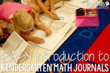 Starting kindergarten math journals can be easy. These are common core aligned and classroom tested. Students will have fun while learning how to solve word problems. Teacher friend and FAST!