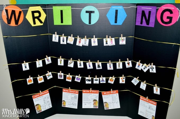 10 simple literacy stations that will last you ALL YEAR! Let me show you how to simplify your students learning. Writing, stamping, listening, and so many other center ideas are in this blog post to help your students gain independence.