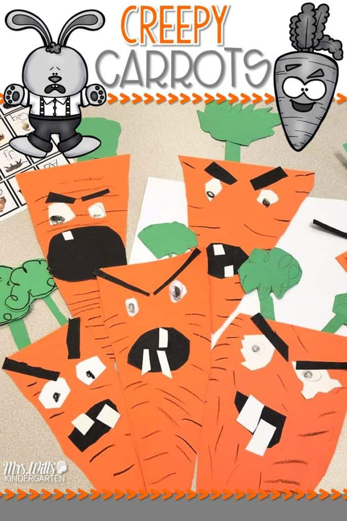 c6ba0e3323c5 Creepy carrots lesson plans for the week are here! See how we use this book