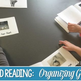 Organizing Guided Reading Groups