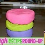 Playdough Recipe Roundup