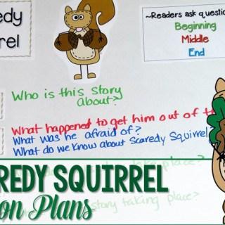 Scaredy Squirrel Lesson Plans
