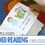 Guided Reading 2 Day Lesson Plans
