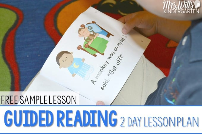 Guided Reading  Day Lesson Plans