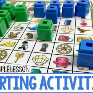 Sorting Activities for Little Learners (Free Sample)