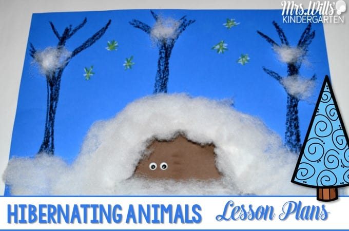 Hibernating Animals Lesson Plans. Kindergarten. Hibernation Printables For Kindergarten At Clickcart.co