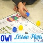 Snow Lesson Plans for Kindergarten