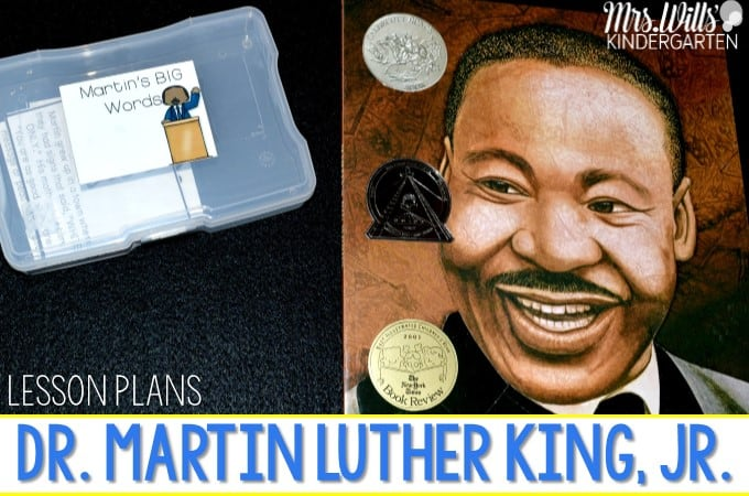 Martin Luther King, Jr Lesson Plans