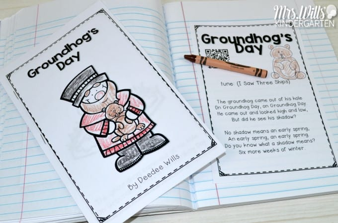 Groundhog day lesson plans groundhog day lesson plans for kindergarten this post includes books music and poetry ibookread Read Online