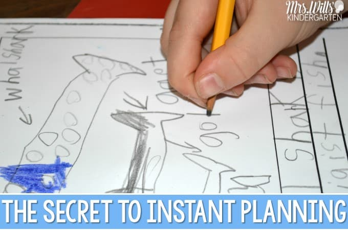 Secrets to Instant Planning… Just PRINT and TEACH