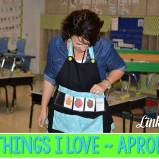 Novelty and Learning… Things I LOVE!   Aprons… no REALLY