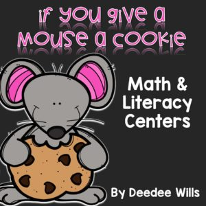 Laura Numeroff classroom activities! If you give a mouse a cookie and similar fun books in the series student favorites. Math centers and literacy centers your kindergarten class with be excited about. Patterns, addition, skip counting, time, word families, sight words, vowels, and MORE! Check it out!