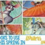 4 Spring Books to Use as Mentor Texts in Writing!