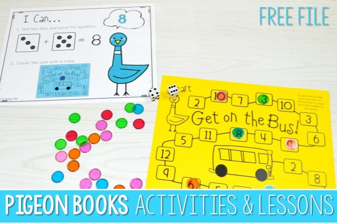 Pigeon Book Lesson Plans (FREE FILE)