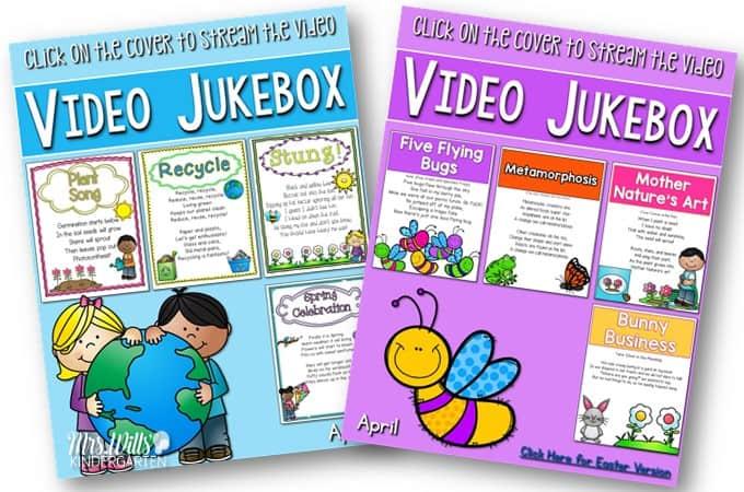 Kindergarten poems for April