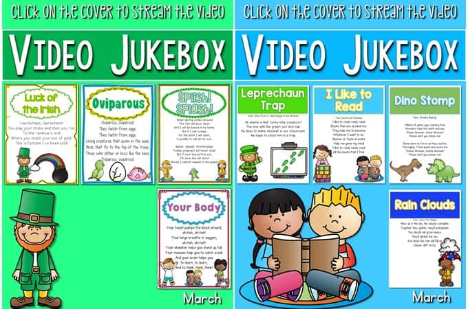 St Patrick's Day Lesson Plans for Kindergarten. Jaime ORourke and the Big Potato by Tomie Depaola is featured in these close reading and reading comprehension lesson plans. Students respond to the text for deep comprehension. March Literacy Centers and Math Centers are included.